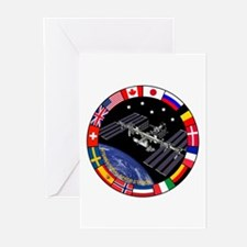 ISS Program Composite Greeting Cards (Pk of 10)