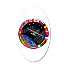 ISS Program Composite Wall Decal