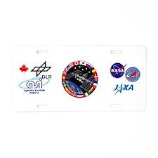 ISS Program Composite Aluminum License Plate