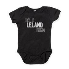Its A Leland Thing Baby Bodysuit