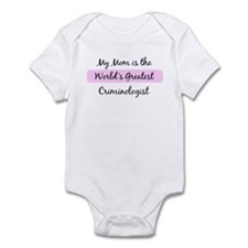 Worlds Greatest Criminologist Infant Bodysuit
