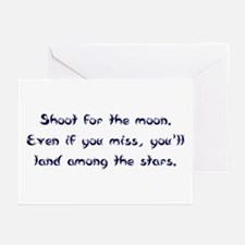 Shoot for the Moon Greeting Cards (Pk of 10)