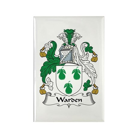 Warden Rectangle Magnet (10 pack)