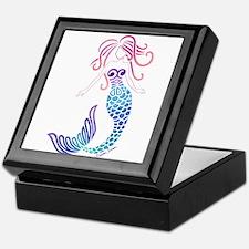 Tribal Mermaid Keepsake Box
