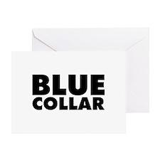 BlueCollar Greeting Card