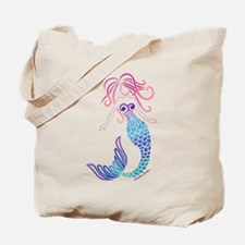 Tribal Mermaid Tote Bag