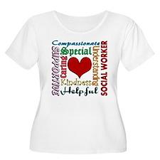 Social Worker Plus Size T-Shirt
