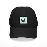 La Fleche Hen Black Cap