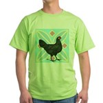 La Fleche Hen Green T-Shirt
