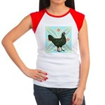 La Fleche Hen Women's Cap Sleeve T-Shirt