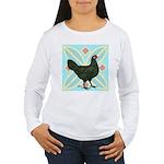 La Fleche Hen Women's Long Sleeve T-Shirt
