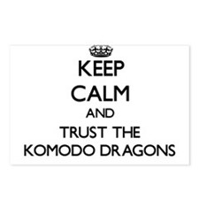 Keep calm and Trust the Komodo Dragons Postcards (