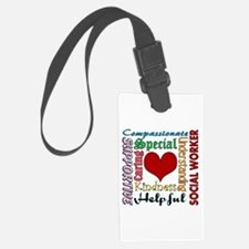 Social Worker Luggage Tag