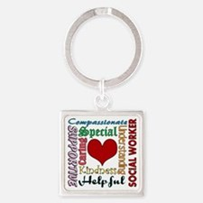 Social Worker Keychains