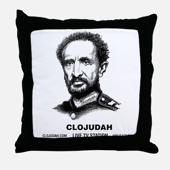CLOJudah Emperor H.I.M. Throw Pillow