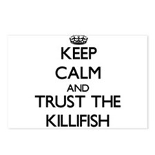 Keep calm and Trust the Killifish Postcards (Packa