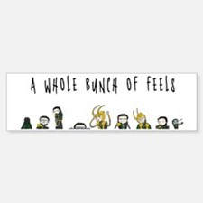A Whole Bunch of Feels Sticker (Bumper)