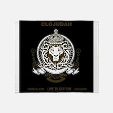 CLOJudah King Lion Throw Blanket