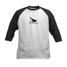 Spring Red Robin Getting Worm Baseball Jersey