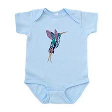 Iridescent Scissortail Hummingbird Body Suit