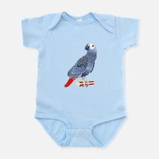 African Grey Parrot copy Body Suit