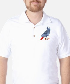 African Grey Parrot copy T-Shirt