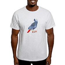 African Grey Parrot copy T-Shirt