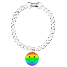 Rainbow Smiley Face Bracelet