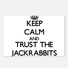 Keep calm and Trust the Jackrabbits Postcards (Pac