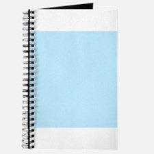 Baby Blue Solid Color Journal