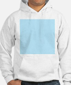 Baby Blue Solid Color Jumper Hoody