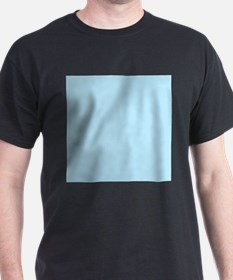 Baby Blue Solid Color T-Shirt