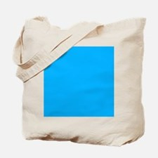 Sky Blue Solid Color Tote Bag