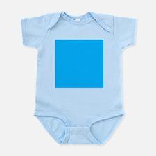 Sky Blue Solid Color Body Suit