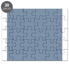Steel Blue Solid Color Puzzle