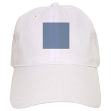 Steel Blue Solid Color Baseball Cap