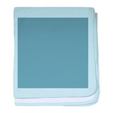Steel Blue Solid Color baby blanket