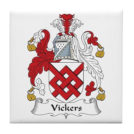 Vickers Tile Coaster