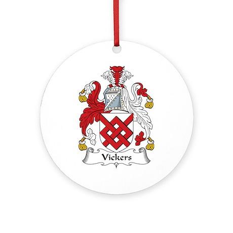 Vickers Ornament (Round)