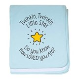 Twinkle twinkle little star Blanket
