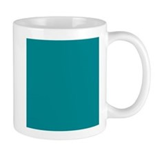 Teal Solid Color Mugs