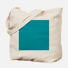 Teal Solid Color Tote Bag