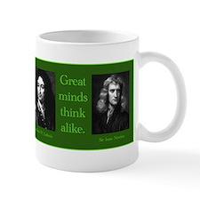 Leibniz & Newton Mug