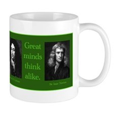 Leibniz & Newton Small Mug
