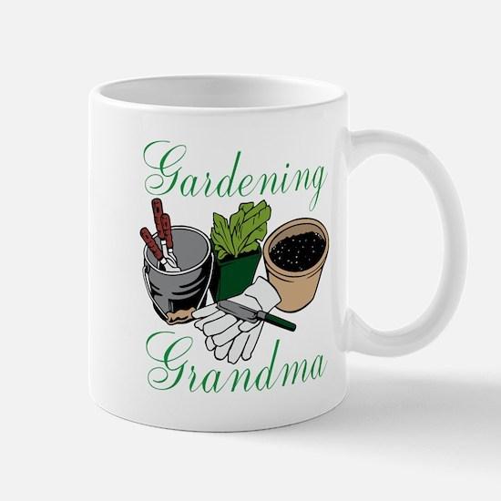 Gardening Grandma Mugs