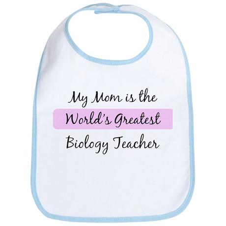 Worlds Greatest Biology Teach Bib