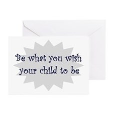 Be what you wish... Greeting Cards (Pk of 10)