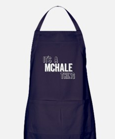 Its A Mchale Thing Apron (dark)
