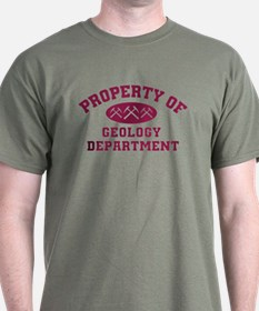 Property Of Geology Department T-Shirt
