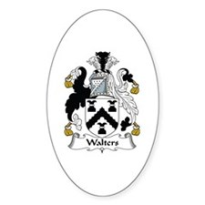 Walters Oval Decal
